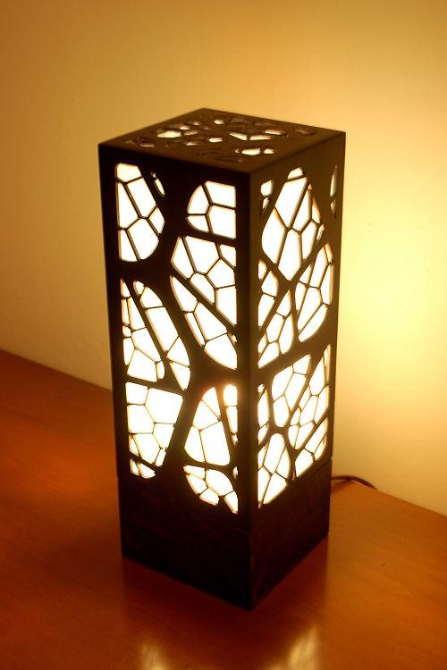 Ideas de Corte y Grabado Láser | Lámpara de Iluminación Tenue